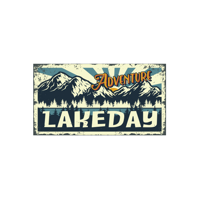 T-Shirt - Adventure Lakeday